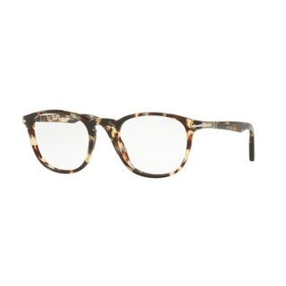 74c66731b0c Shop Persol Men s PO3143V 1057 49 Havana Grey Brown Rectangle Plastic  Eyeglasses - Free Shipping Today - Overstock.com - 17961979