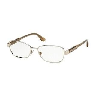 Ralph Lauren Men's RL5089 9119 54 Matte Blue Rectangle Metal Eyeglasses