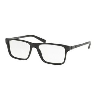 Ralph Lauren Men's RL6162 5001 55 Black Square Plastic Eyeglasses