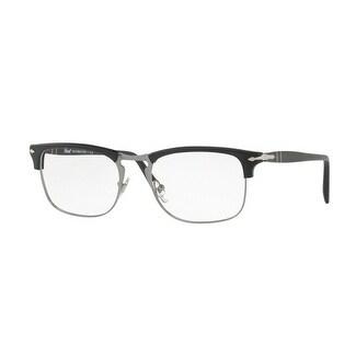 5560b6643d203 Shop Persol Men s PO8359V 9000 53 Black Rectangle Plastic Eyeglasses ...