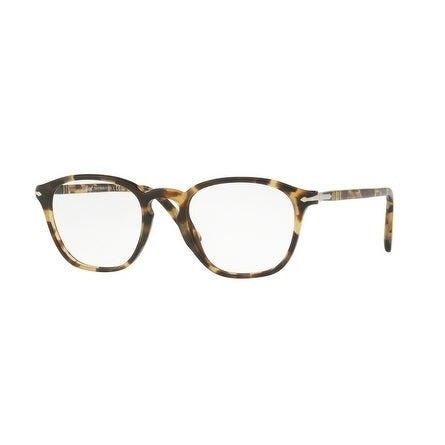ec3c7cb835 Shop Persol Men s PO3178V 1056 52 Brown Beige Tortoise Rectangle Plastic  Eyeglasses - Free Shipping Today - - 17962286