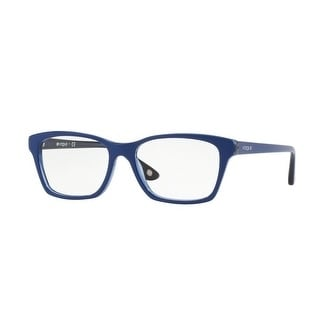 Top Dark Blue//blue Transp VO2714-2583-52 Vogue VO2714 Eyeglass Frames 2583-52