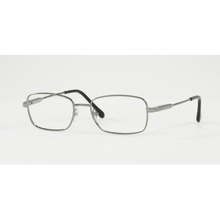 Sferoflex Men's SF2258 268 52 Gunmetal Rectangle Metal Eyeglasses
