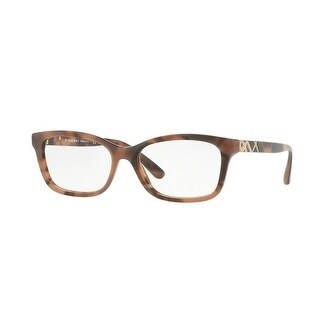 Burberry Women's BE2249F 3641 54 Spotted Brown Rectangle Plastic Eyeglasses