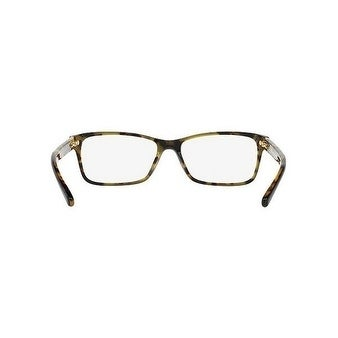 67e950bb1a Michael Kors Women  x27 s MK4043 3255 51 Black Tortoise Rectangle Plastic  Eyeglasses