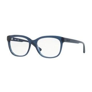 Donna Karan New York Women's DY4677 3714 54 Blue Translucent Square Plastic Eyeglasses