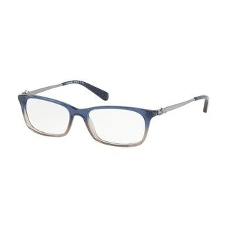 5e114e9d3a Shop Coach Women s HC6110 5489 52 Denim Taupe Glitter Gradient Rectangle  Plastic Eyeglasses - Free Shipping Today - Overstock - 17962969