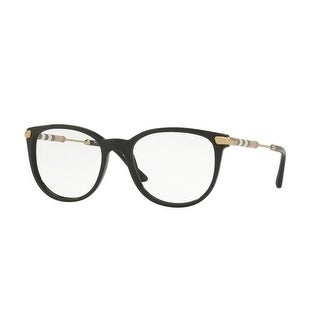 180cd749aae4 Shop Burberry Women s BE2255QF 3001 53 Black Square Plastic Eyeglasses -  Free Shipping Today - Overstock - 17963020