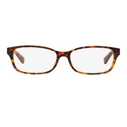 5dccfab83f Michael Kors Women  x27 s MK4024F 3066 55 Brown Tortoise Rectangle Plastic  Eyeglasses