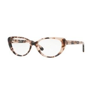 Donna Karan New York Women's DY4664 3731 52 Pink Tortoise Cateye Plastic Eyeglasses