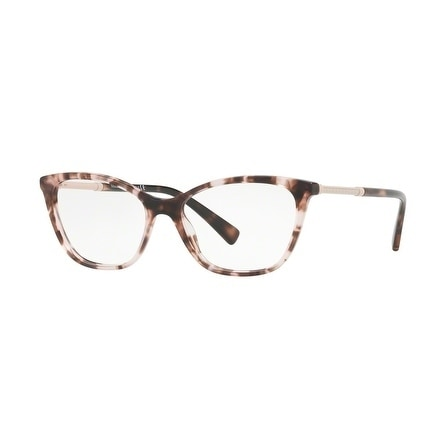 cbd1e8809ab8 Shop Versace Women s VE3248 5253 54 Pink Havana Cateye Plastic Eyeglasses -  Free Shipping Today - Overstock - 17963244