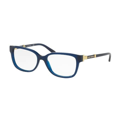 Tory Burch TY2075 1656 52 Navy Woman Square Eyeglasses