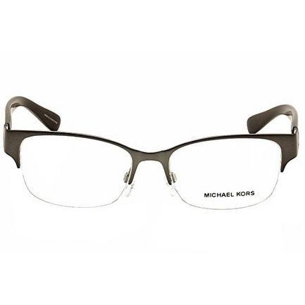 f2b1113fd3 Shop Michael Kors MK 7006 1075 Tabitha VI Rectangle Gunmetal Eyeglasses  5216 135 - Free Shipping Today - Overstock - 17963255