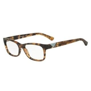 Emporio Armani Women's EA3093 5540 53 Havana Spot Grey Oval Plastic Eyeglasses