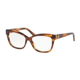 Ralph Lauren Women's RL6164 5007 53 Striped Havana Cateye Plastic Eyeglasses