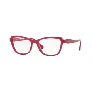 Vogue Women's VO2957 2309 51 Opal Cyclamen Rectangle Plastic Eyeglasses
