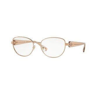 c6b4a66ca13bf Shop Versace Women s VE1246B 1052 54 Copper Oval Metal Eyeglasses - Free  Shipping Today - Overstock - 17963496