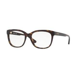 Donna Karan New York Women's DY4677 3702 54 Dark Tortoise Square Plastic Eyeglasses