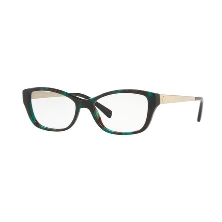 be156595bba8 Versace Women  x27 s VE3236 5076 54 Green Havana Cateye Plastic Eyeglasses