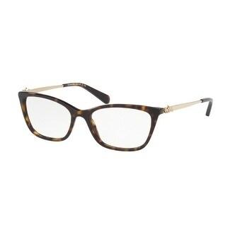 045fa9823c Shop Coach Women s HC6107 5485 52 Dark Tortoise Rectangle Plastic  Eyeglasses - Free Shipping Today - Overstock - 17963533