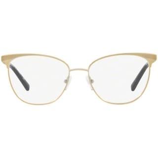 6438f6ae4b5 Shop Michael Kors Women s MK3018 1193 54 Pale Gold-Tone Square Metal  Eyeglasses - Free Shipping Today - Overstock.com - 17963534