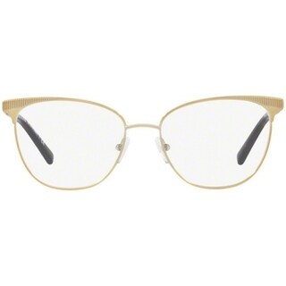Michael Kors Women's MK3018 1193 54 Pale Gold-Tone Square Metal Eyeglasses