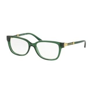 Tory Burch Women's TY2075 1566 52 Bottle Green Square Plastic Eyeglasses