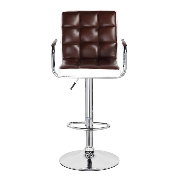 Mid back classic adjustable height bar stool