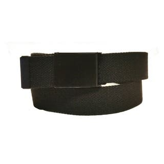 Canvas Web Belt with Flip Buckle|https://ak1.ostkcdn.com/images/products/17963762/P24140221.jpg?impolicy=medium