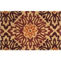"""Waverly Greetings """"Sweet Things"""" Multicolor Doormat by Nourison (2' x 3') - 1'6 x 2'4"""