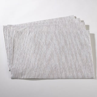 Woven Metallic Fused Design Placemat Set
