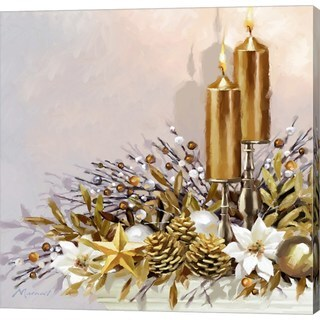 The Macneil Studio 'Gold Decoration' Canvas Art