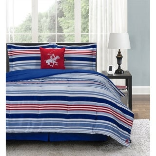 Beverly Hills Polo Club 5 Pieces Comforter Set