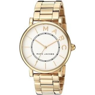 Marc Jacobs Women's MJ3522 'Roxy' Gold-Tone Stainless Steel Watch - Silver