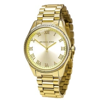 Michael Kors Women's MK3244 'Blake' Crystal Gold-Tone Stainless Steel Watch