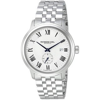 Raymond Weil Men's 2238-ST-00659 'Maestro' Automatic Stainless Steel Watch - Silver