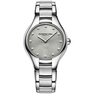 Raymond Weil Women's 5132-STS-65081 'Noemia' Diamond Stainless Steel Watch - Silver