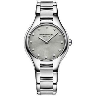 Raymond Weil Women's 5132-STS-65081 'Noemia' Diamond Stainless Steel Watch - Silver