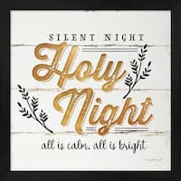 Silent Night Framed Wall Art