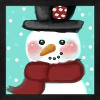 Snowman Framed Wall Art