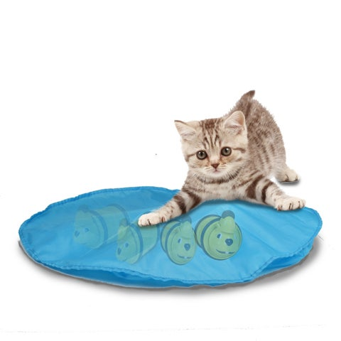 OurPets Mouse in a Pouch Interactive Cat Toy