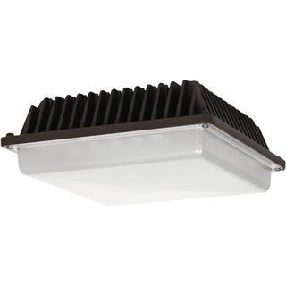 LED Canopy Fixture 57W DLC 4.2