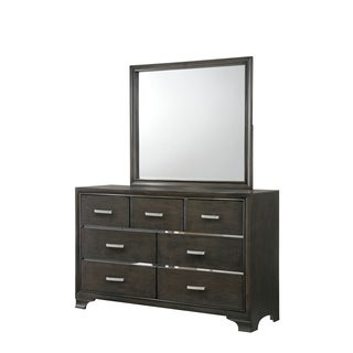 Paxton Mirror Only in Light Grey Finish