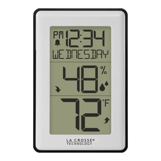 La Crosse Technology 308-1911 Indoor Temperature Humidity Station with Time