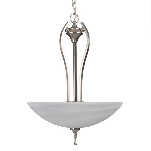 Yosemite Home Décor Glacier Point Collection 3 Light Pendant