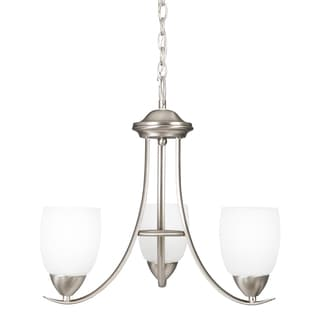 Yosemite Home Décor Mirror Lake Collection 3 Light Chandelier