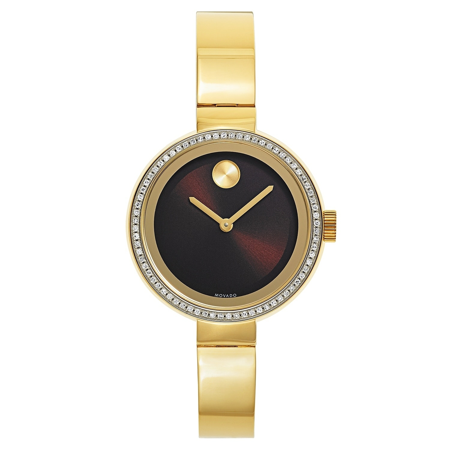 Movado Bold 3600282 Women's Watch, Brown, Size One Size F...