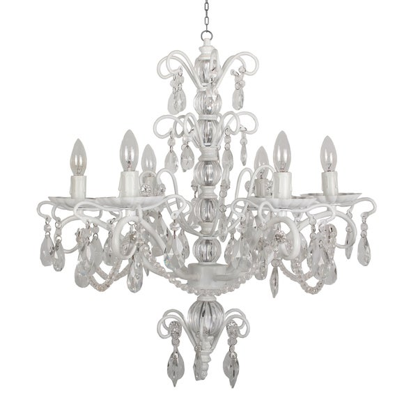 Yosemite Home Décor Ribbon Creek Collection Six Lights Chandelier