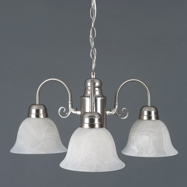 Yosemite Home Décor Manzanita Collection Three Light Chandelier