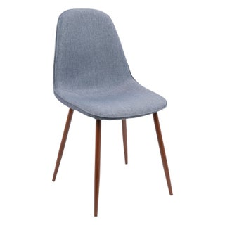 Pebble Mid-Century Modern Upholstered Accent / Dining Chair (Set of 2) (2 options available)